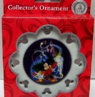 Sorcerer Mickey Christmas Ornament Disney WDW New In Box Front