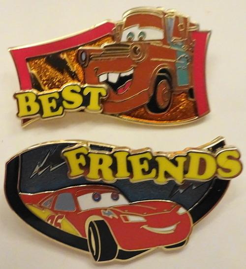 Disney Best Friends Cars Lightning McQueen & Mater Limited