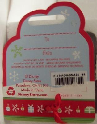 Disney Jiminy Cricket With Umbrella Christmas Ornament New With Special Disney Store Ornament Tag Goodnreadytogo