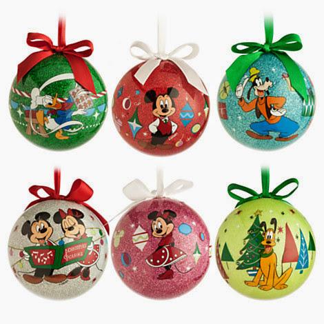 Disney Mickey Mouse & Friends Découpage Christmas Ornament ...