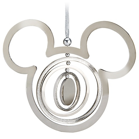Disney Mobile Mickey Mouse Icon Metal Christmas Ornament New