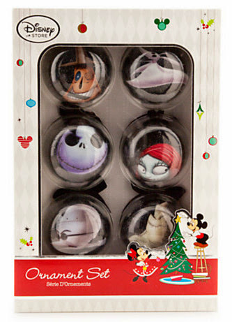 Christmas Ornament Set.Disney Tim Burton S The Nightmare Before Christmas Decoupage Christmas Ornament Set 6 Pc New In Box