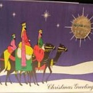 IOM Christmas Travel Coin 1990 In Card Front