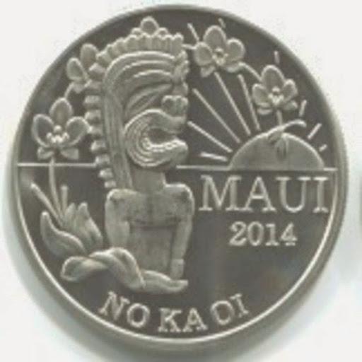 copper dollar coin