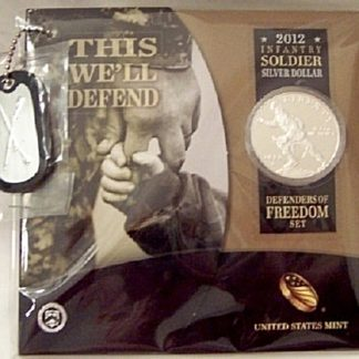 Freedom Silver Coin Set US Mint 2012 New