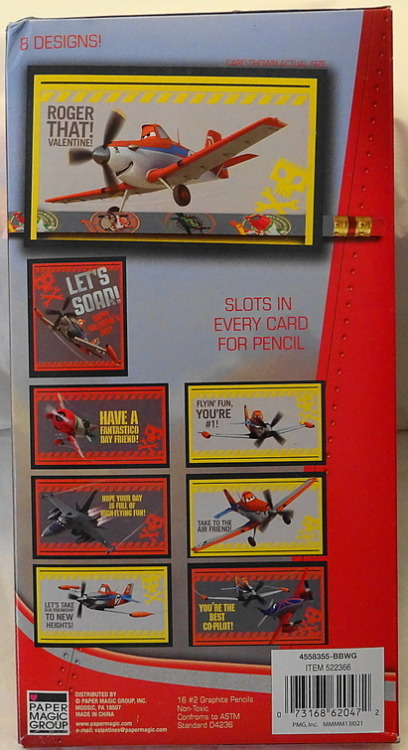d2e503744711 Disney Planes #16 Valentines Cards With #16 #2 Graphite Pencils New In Box  #8 Fun Designs