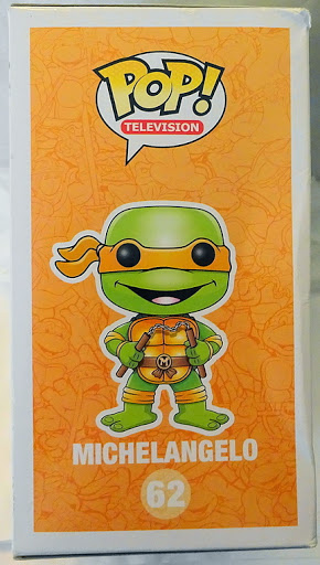 903ee388af7 Pop! Television Teenage Mutant Ninja Turtles TMNT Michelangelo  62 Vinyl ...