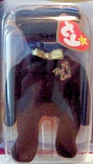Ronald McDonald House Charities 2000 The End The Bear Ty Beanie Babies New In Pack Closeup