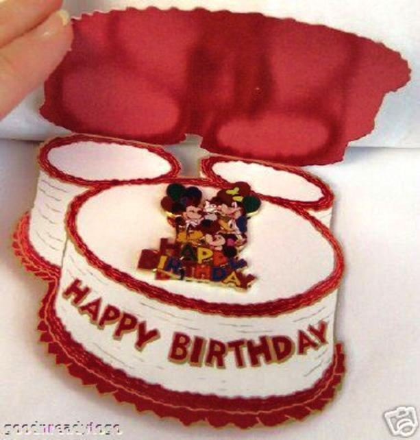 Disney Mickey Minnie And The Gang Happy Birthday Pin With Special