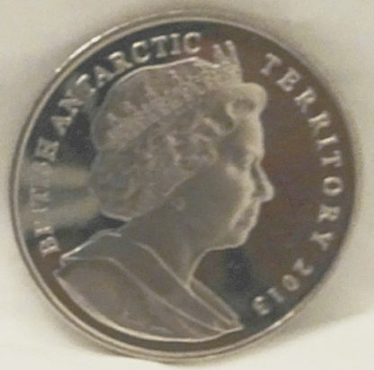 Emperor Penguin Chicks Coin BAT Copper-Nickel Unc Back