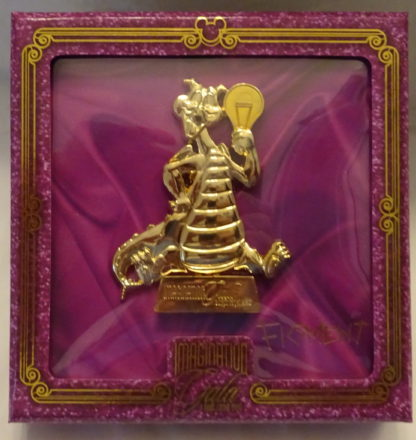 Disney Imagination Gala Jumbo Figment LE 750 Jumbo Pin New In Box Front