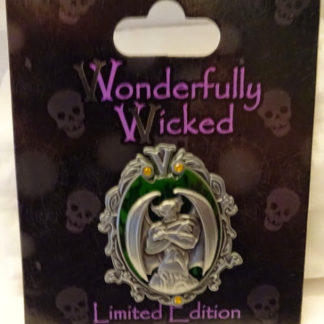 Disney Wonderfully Wicked Chernabog Fantasia Villain Limited Edition Pin New On Card Front