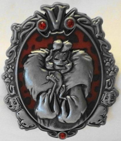 Disney Wonderfully Wicked Cruella De Vil Villain Limited Edition Pin New Front