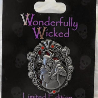 Disney Wonderfully Wicked Horned King Villain Limited Edition Pin New On Card Front
