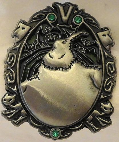 Disney Wonderfully Wicked Oogie Boogie NBC Villain LE Pin New Front