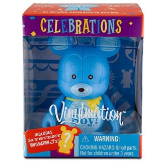Disney Boy Celebrations Vinylmation 3'' Figure + Jr New In Box Front