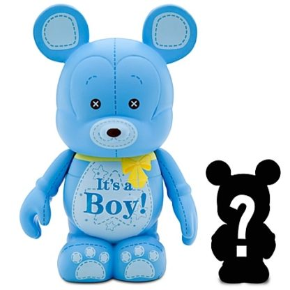 Disney Boy Celebrations Vinylmation 3'' Figure + Jr Out Of Box Stock Photo