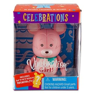 Disney Girl Celebrations Vinylmation 3'' Figure + Jr New In Box Front