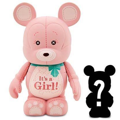 Disney Girl Celebrations Vinylmation 3'' Figure + Jr Out Of Box Stock Photo