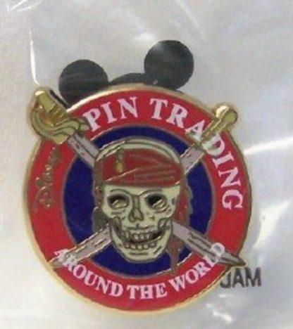 Disney Pirates Caribbean Buried Treasure Pin Front