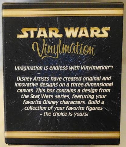 Disney Yoda Stitch Vinylmation Star Wars Figure New In Box Back
