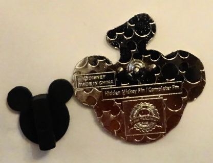 Duffy Disney Bear Pin Hidden Mickey Completer 2013 New Back
