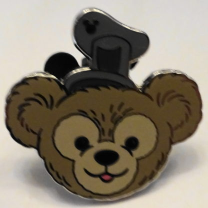 Duffy Disney Bear Pin Hidden Mickey Completer 2013 New Front