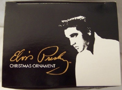 Elvis Black Jumpsuit Ornament Kurt S. Adler Christmas New In Box Top