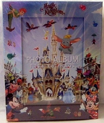 Disney Photo Album Frame WDW MK Characters New Front