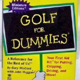 Golf for Dummies Mini Book 1996 Edition Front