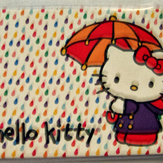 Hello Kitty Umbrella Notecards Blank #6 With Envelopes New Front