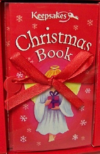 Keepsakes Christmas Box Mini Book Kit New Front