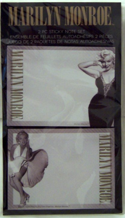 Marilyn Monroe Sticky Notes #40 Sheets The Seven Year Itch Skirt Photo + Black Dress Photo New Front