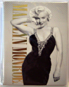 Marilyn Monroe Photo Notecards Black Dress #8 New Front