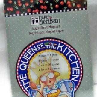 Mary Engelbreit The Queen Of The Kitchen Ingresient Magnet New Front