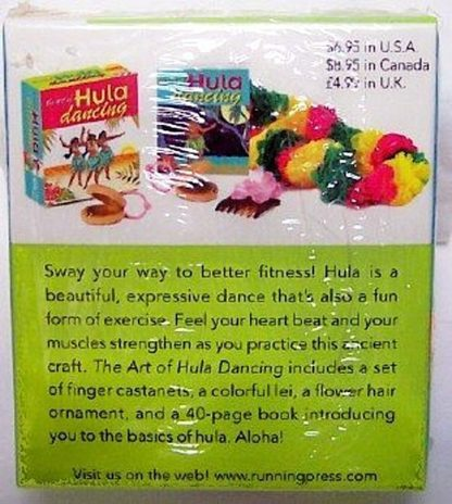 The Art Of Hula Dancing Mini Book Kit New Back