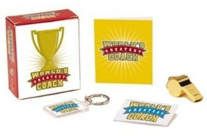 Greatest Coach Mini Book Kit New Open Stock Photo