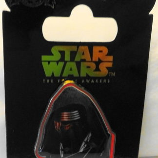 Disney Force Awakens Kylo Ren Pin Countdown #6 LE New On Card Front