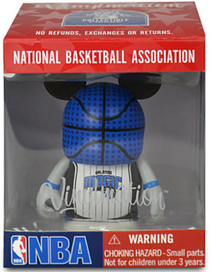 Disney NBA Series Orlando Magic Vinylmation 3'' Figure New In Box Front