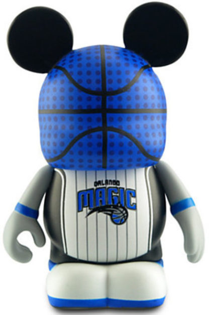 Disney NBA Series Orlando Magic Vinylmation 3'' Figure New Out Of Box Front Stock Photo