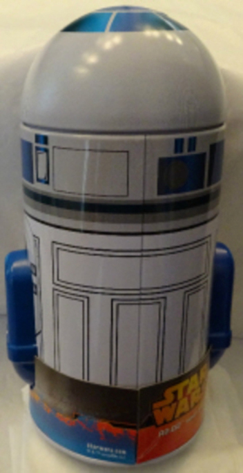 Disney Star Wars R2D2 Metal Coin Bank New 1