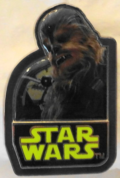 Force Awakens Chewbacca Pin Disney Star Wars Countdown #3 Limited Edition New Front