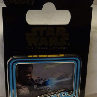 Force Awakens Finn Pin Disney Countdown #4 LE New On Card Front