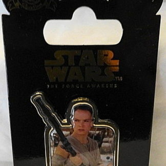 Force Awakens Rey Pin Disney Countdown #5 LE New On Card Front