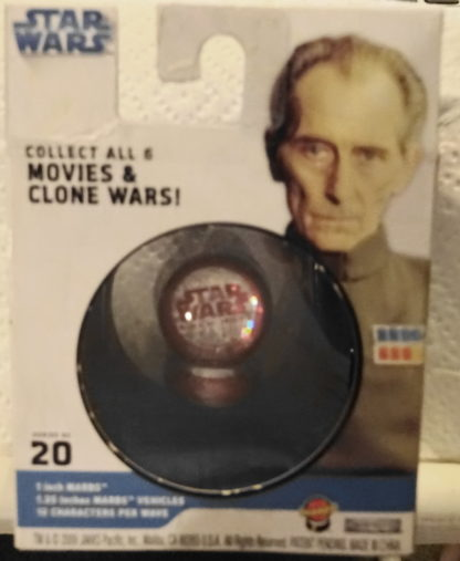 Grand Moff Tarkin Marbs Star Wars A New Hope Series 2 #20 New In Box Back