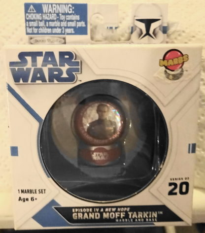 Grand Moff Tarkin Marbs Star Wars A New Hope Series 2 #20 New In Box Front 2