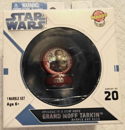 Grand Moff Tarkin Marbs Star Wars A New Hope Series 2 #20 New In Box Front