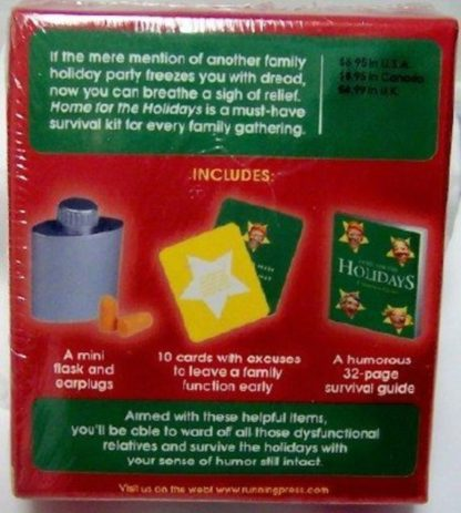 Home For The Holidays A Survival Guide Kit New Back