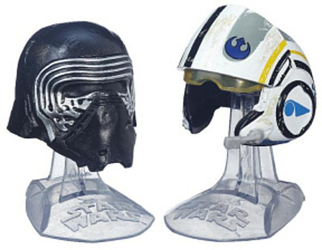 Kylo Ren Poe Helmets Star Wars Diecast