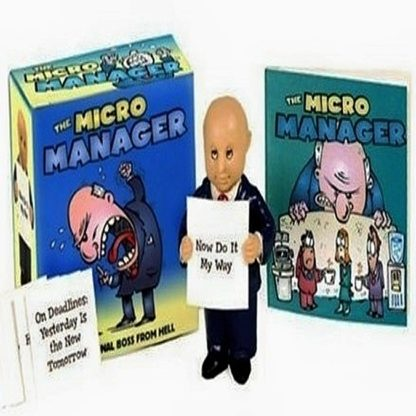 Miro Manager Original Boss From Hell Mini Book Kit New Open Stock Photo